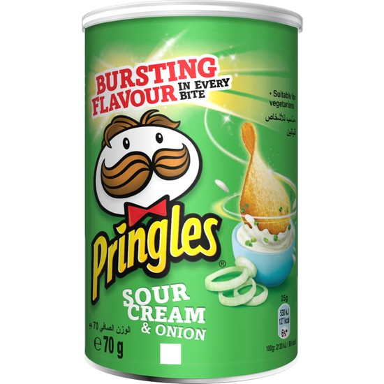 Pringles Ekşi Krema/Soğan 70 gr