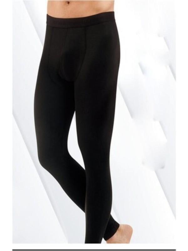 Kota Kışlık Erkek Siyah Termal Iç Giyim Tayt