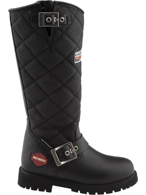 Harley Davidson Laconıa Hı / Waterproof Çocuk Siyah Çizme