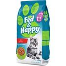 Fed & Happy Kuzu Etli Yetişkin Kedi Maması 1,5 kg
