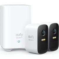 Anker Eufy Security Eufycam 2C Kablosuz Akıllı Güvenlik ve Kamera Sistemi 2 Kamera 1 Ana Ünite Kiti
