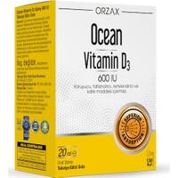 Ocean Vitamin D3 600 IU Sprey 20ml
