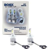 Dekohop Bosx LED Xenon Yeni Teknoloji 4400 Lm Zenon Far Ampulü H1 / H3 / H4 / H7 / H11 / H27 / 9005 / 9006