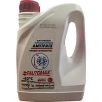 Automax -42 (°c) Kırmızı Organik Antifriz 3 Litre