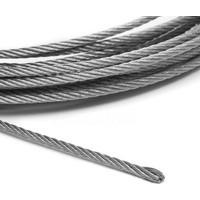 adelinspor 8 mm Çelik Halat Galvanizli 50 M