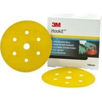 3m 80362 255P P280 Sarı 7 Delikli Disk Zımpara 150 mm 100 'lü