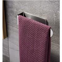 ZiftUnique Paslanmaz Çelik Havluluk - Havlu Askısı / Yapışkanlı Sistem