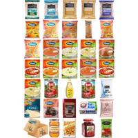 Blueden Ramazan Paketi Kumanya Ezrak Gıda Yardım Kolisi 34 Parça 71 nolu Paket