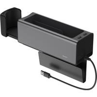 Baseus Deluxe Metal Dual USB Araç Koltuk Arası Organızer