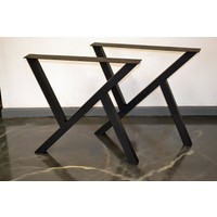 Abronya Metal Masa Ayağı Yemek Çalışma Ofis Salon Mutfak Metal Masa Ayağı 1 Takım 2 Ayak