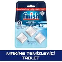 Finish Bulaşık Makinesi Makine Temizleyici 3 Tablet