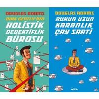 Dirt Gently Serisi 2 Kitap Set Douglas Adams (Holistik Dedektiflik Bürosu, Ruzun Uzun Karanlık Çay Saati)