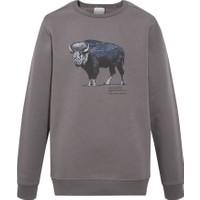 Columbia Check The Buffalo Bugasweat Crew II Erkek Sweatshirt CS0160