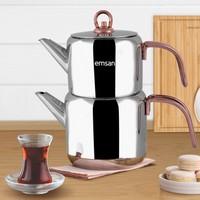 Emsan Miras İndüksiyon Tabanlı Çaydanlık Takımı