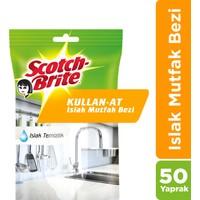 Scotch Brite Kullan-At Islak Mutfak Bezi 50 Yaprak
