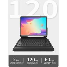 Fibaks Apple iPad Pro 11 2018 Wiwu Keyboard Folio Kablosuz Klavyeli Kılıf