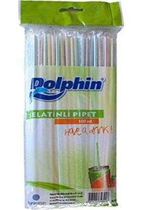 Dolphin Jelatinli Körüklü Pipet 100'LÜ