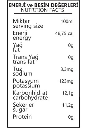 Benorganic Elma Suyu 12'li x 250 ml