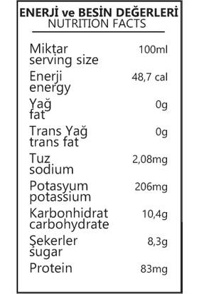 Benorganic Portakal Suyu 12'li x 250 ml