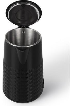 Arnica IH36152 Diamond Su Isıtıcı - Siyah