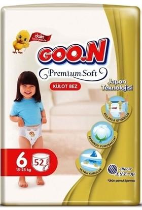 Goon Premium Soft 6 Numara Külot Bez 15-25 kg Ikiz Paket 52 Adet