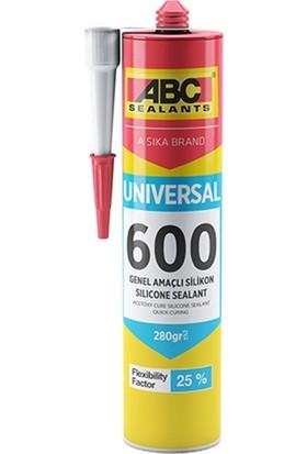 Sika Abc 600 Universal Genel Amaçlı Silikon 280 gr