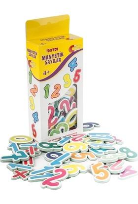 Hobialem Diytoy, Manyetik,harfler, Sayılar, 2 Li Magnet Set,eğitici Magnet