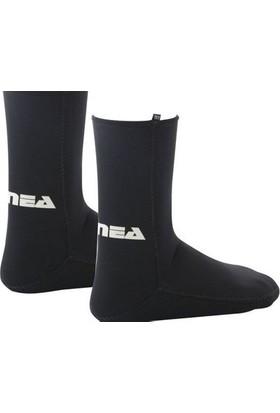 Apnea 3mm Supratex Tabanlı Siyah Dalış Çorabı