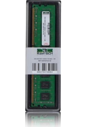 Ramtech 4gb Ddr3 1600MHZ Amd Işlemcilere Uyumlu Masaüstü Ram 1.5W RMT1600FAPCD3-4G