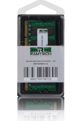 Ramtech RMT800NBD2-2G 2 GB Ddr2 800 Mhz Cl6 1.8 V Notebook Ram RMT800NBD2-2G