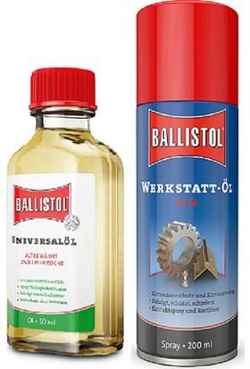 Ballistol Ultra Temizlik ve Bakım Yağ Seti