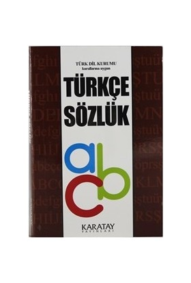 Karatay Yayınları Ilk Okul Türkçe Sözlük