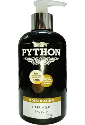Python Nemlendirici Saç Sütü 250 ml