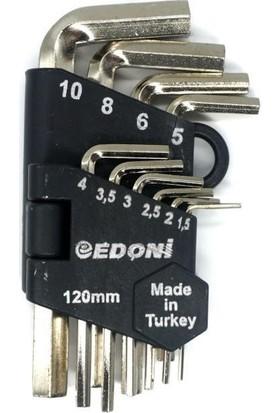 Edoni Allen Anahtar Seti 10'lu