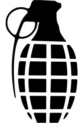 İnce Reklam Araba Arkası Sticker Oto Kaput Stşcker Bomaba Desen