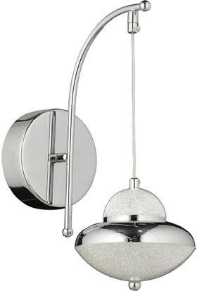Luna Lighting Modern Luxury Krom Ledli Aplik