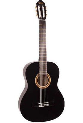 Valencia VC103-BK 3/4 Siyah Klasik Gitar (Kılıf+Pena )