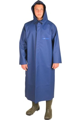 Polly Rain Pollyraın Pvc Pardesü (Mavi)