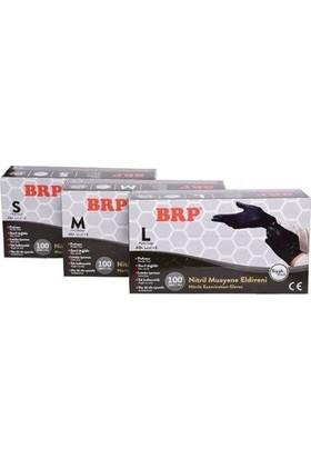 Brp Nitril Siyah Large Eldiven