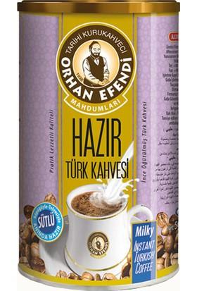 Altıncezve Orhan Efendi Hazır Türk Kahvesi Sütlü 250 gr