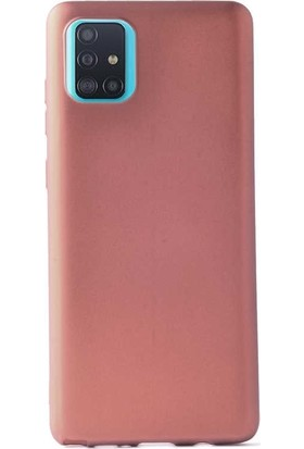 Smcase Samsung Galaxy Note 10 Lİte Kılıf Premier Silikon Esnek Koruma Bronz