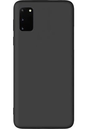 Smcase Samsung Galaxy S20 Kılıf Premier Silikon Esnek Koruma Siyah