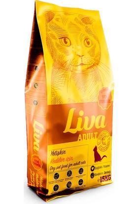 Liva Somonlu Yetişkin Kedi Maması 15 kg