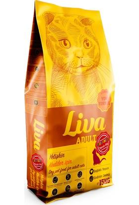 Liva Gurme Yetişkin Kedi Maması 15 kg