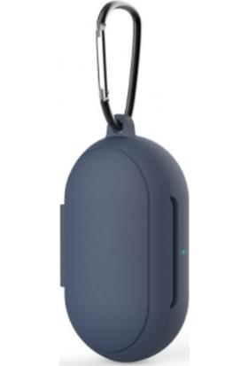 Yakuppolt Galaxy Buds + Plus Için Silikon Soft Kılıf + Anahtarlık Darbeye Dayanıklı