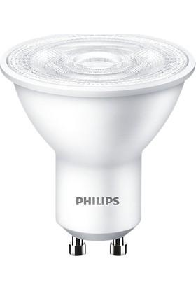 Philips Essential 3.2-40W Kırık Beyaz Işık 4000K GU10 LED Spot Ampul 10 Adet
