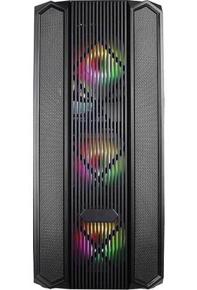 Turbox Xınzhao 4x Rainbow Fan USB 3.0 400W 500W ATX Mesh Panel Gaming Bilgisayar Kasası