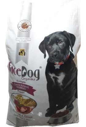 Face Dog Organika Kuzu Etli Yavru Köpek Maması 15 Kg