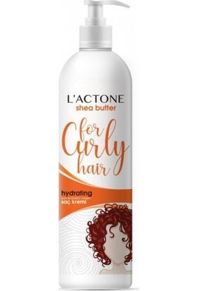 L'actone Saç Kremi Seti 2 Li Kıvırcık Saç Shea Yağı Hydrating Krem + Cep Mendili