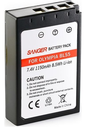 Sanger Bls-50 Olympus Fotoğraf Makinesi Batarya